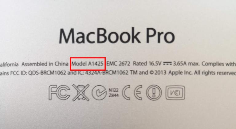 MacBook Proの裏